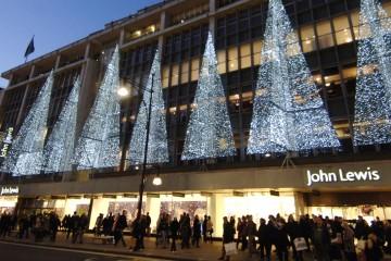 John Lewis Christmas Windows